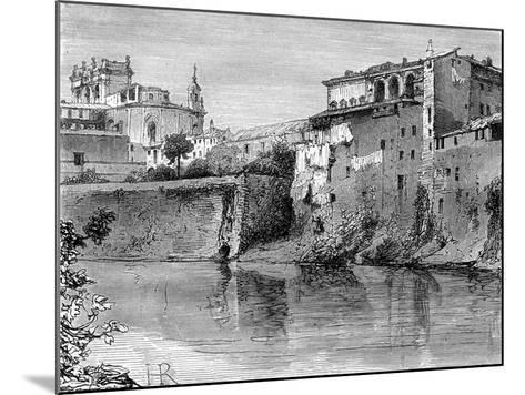Villa Farnese, Province of Viterbo, North-West of Rome, Italy, 19th Century-Henri Alexandre Georges Regnault-Mounted Giclee Print