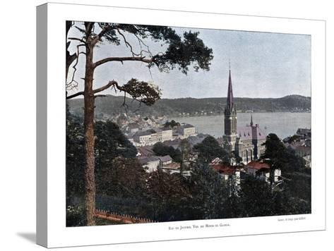 Rio De Janeiro, Brazil, 19th Century- Gillot-Stretched Canvas Print