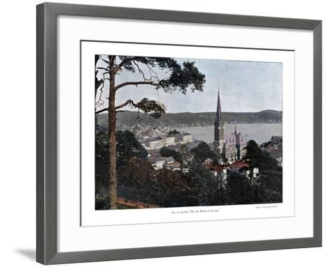 Rio De Janeiro, Brazil, 19th Century- Gillot-Framed Art Print