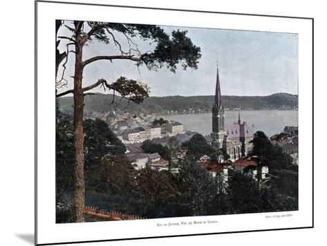 Rio De Janeiro, Brazil, 19th Century- Gillot-Mounted Giclee Print