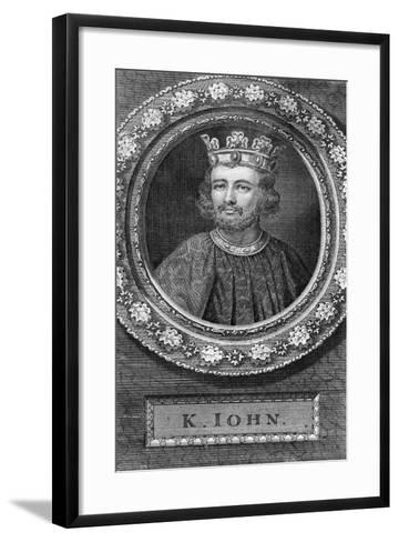 John of England-George Vertue-Framed Art Print