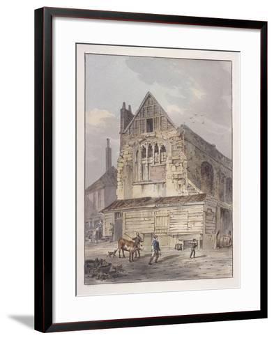Leadenhall Chapel, London, C1810-George Shepherd-Framed Art Print