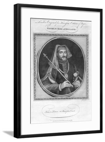 Henry IV, King of England- Goldar-Framed Art Print