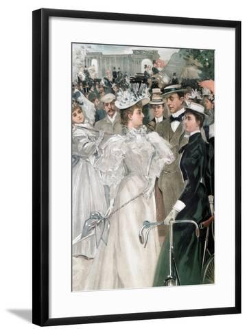 Theresa, Marchioness of Londonderry, 1896-Hal Hurst-Framed Art Print
