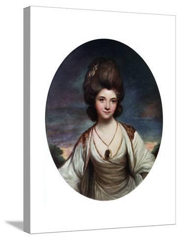 Lady Betty Compton, C1780- Hanfstaengel-Stretched Canvas Print