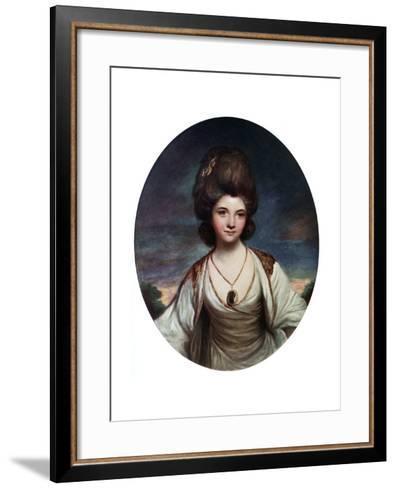 Lady Betty Compton, C1780- Hanfstaengel-Framed Art Print