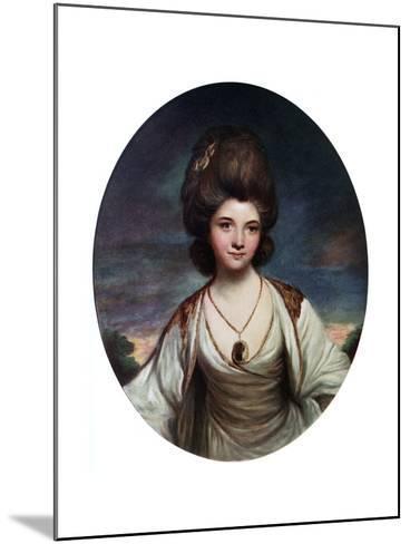 Lady Betty Compton, C1780- Hanfstaengel-Mounted Giclee Print