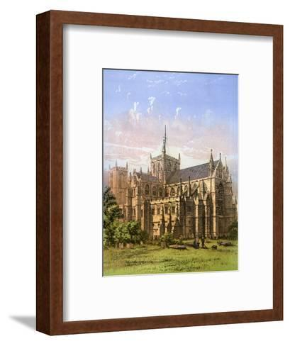 Ripon Cathedral, Yorkshire, C1870- Hanhart-Framed Art Print