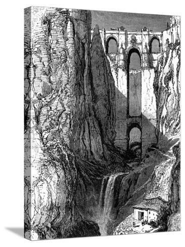 Puente Nuevo, Ronda, Spain, 19th Century-Harry Fenn-Stretched Canvas Print