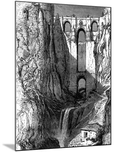 Puente Nuevo, Ronda, Spain, 19th Century-Harry Fenn-Mounted Giclee Print