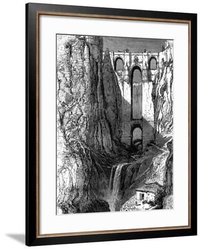 Puente Nuevo, Ronda, Spain, 19th Century-Harry Fenn-Framed Art Print