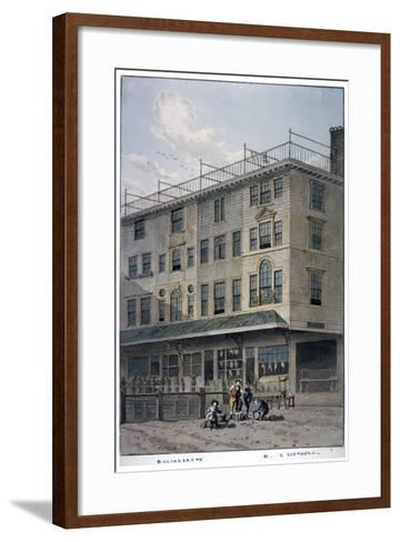 Billingsgate Market, City of London, C1810-George Shepherd-Framed Art Print