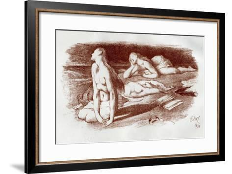 The Dreamers, 1898-Georges McCulloch-Framed Art Print