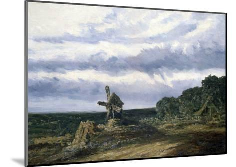 Landscape with a Mill, C1783-1843-Georges Michel-Mounted Giclee Print