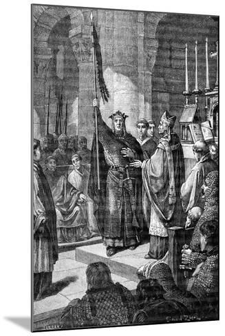 Louis VII, Saint Denis, 1898-Gustave Demoulin-Mounted Giclee Print