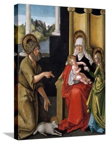 Saint Anne with the Christ Child, the Virgin, and Saint John the Baptist, C1511-Hans Baldung-Stretched Canvas Print
