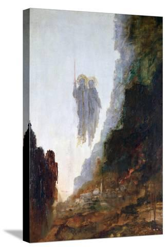 Angels of Sodom, C1846-1898-Gustave Moreau-Stretched Canvas Print