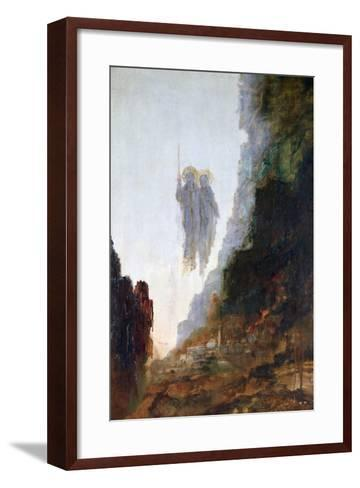 Angels of Sodom, C1846-1898-Gustave Moreau-Framed Art Print