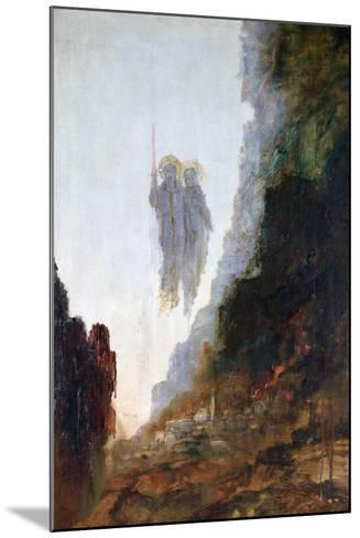 Angels of Sodom, C1846-1898-Gustave Moreau-Mounted Giclee Print