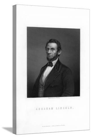 Abraham Lincoln, 16th President of the United States-HC Balding-Stretched Canvas Print