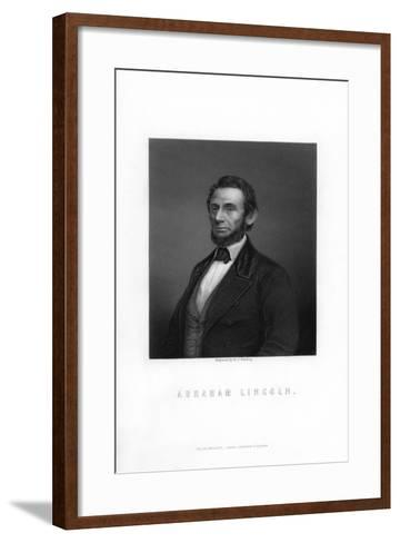 Abraham Lincoln, 16th President of the United States-HC Balding-Framed Art Print