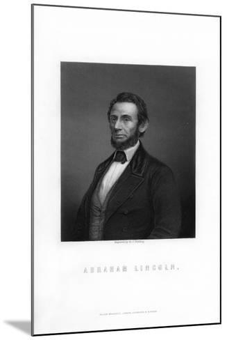 Abraham Lincoln, 16th President of the United States-HC Balding-Mounted Giclee Print
