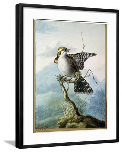 A Little Bird, 1798-Georgius Jacobus Johannes van Os-Framed Art Print