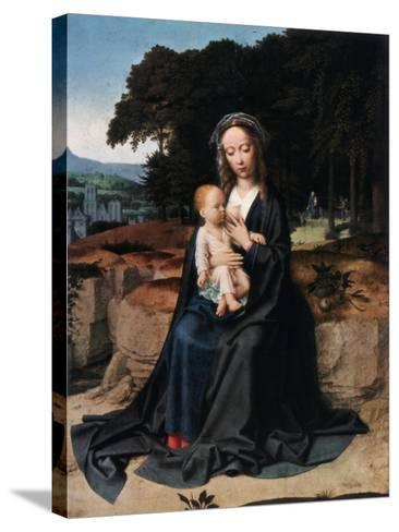 The Rest on the Flight into Egypt, C1512-1515-Gerard David-Stretched Canvas Print