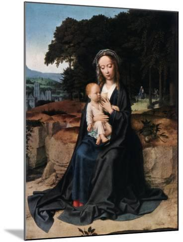 The Rest on the Flight into Egypt, C1512-1515-Gerard David-Mounted Giclee Print