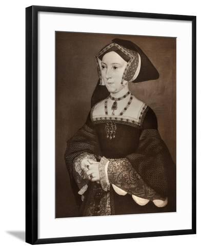 Jane Seymour, 1536-Hans Holbein the Younger-Framed Art Print