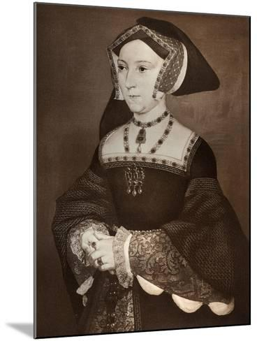 Jane Seymour, 1536-Hans Holbein the Younger-Mounted Giclee Print