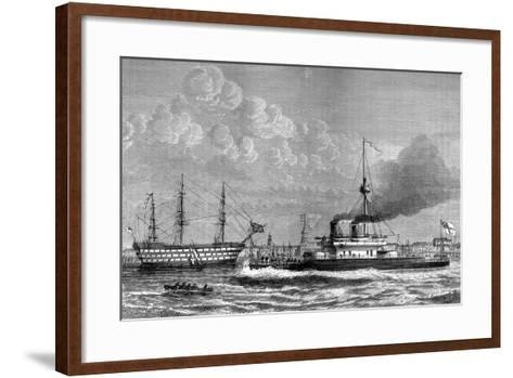 Nelson's Victory, 1800, and the Devastation, 1875-HE Jozer-Framed Art Print