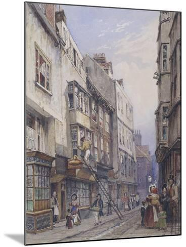 Bell Yard Near Chancery Lane, London, 1835-George Sidney Shepherd-Mounted Giclee Print
