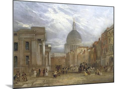 The Old General Post Office and St Martin's Le Grand, 1835-George Sidney Shepherd-Mounted Giclee Print
