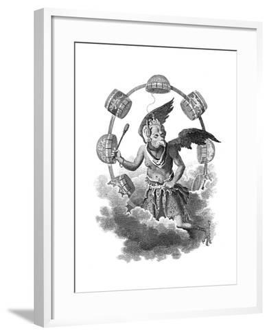 Jupiter of the Chinese, Early 19th Century- Grainger-Framed Art Print