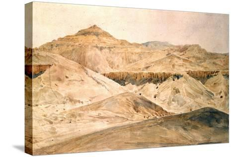 Vallee Des Tombeaux, Egypt, 19th Century-Hector Horeau-Stretched Canvas Print