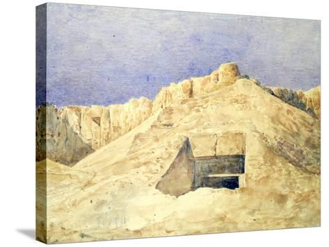 Tomb of Ramesses I, C1820-1870-Hector Horeau-Stretched Canvas Print