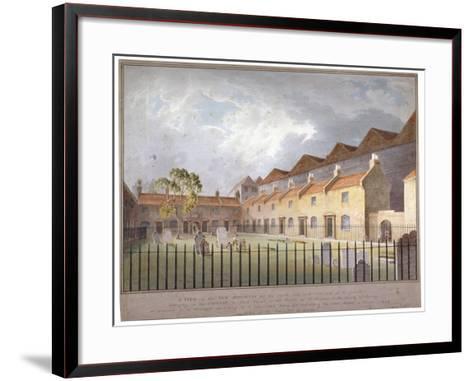 View of Buildings in Park Street, Southwark, London, 1808-George Smith-Framed Art Print