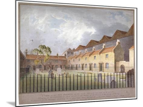 View of Buildings in Park Street, Southwark, London, 1808-George Smith-Mounted Giclee Print