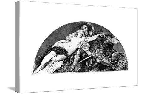 Peter Paul Rubens, Flemish Baroque Artist, C1880-1882-Hans Makart-Stretched Canvas Print