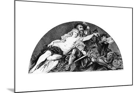 Peter Paul Rubens, Flemish Baroque Artist, C1880-1882-Hans Makart-Mounted Giclee Print