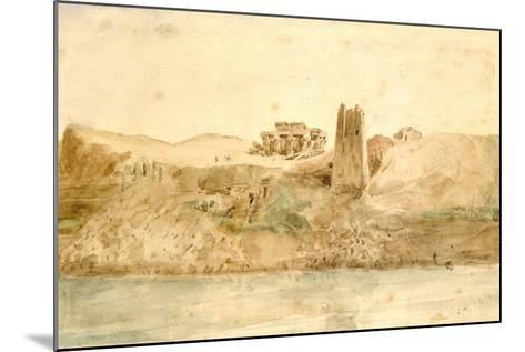 Kom Ombo, Egypt, 19th Century-Hector Horeau-Mounted Giclee Print