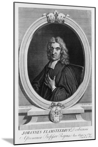 John Flamsteed, Astronomer, 1712-George Vertue-Mounted Giclee Print