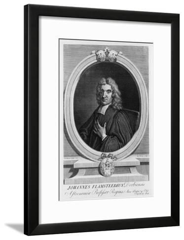 John Flamsteed, Astronomer, 1712-George Vertue-Framed Art Print