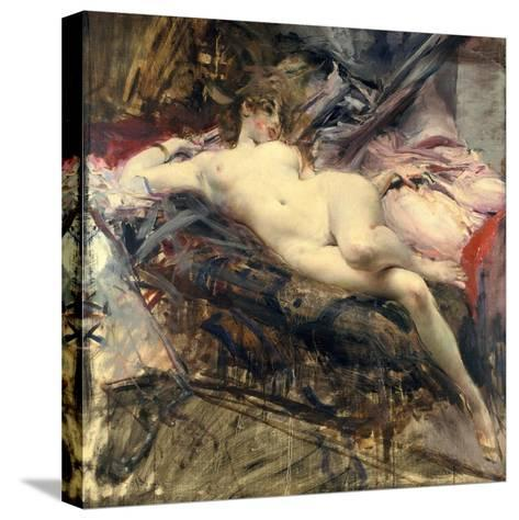 Reclining Nude, Late 19Th/Early 20th Century-Giovanni Boldini-Stretched Canvas Print