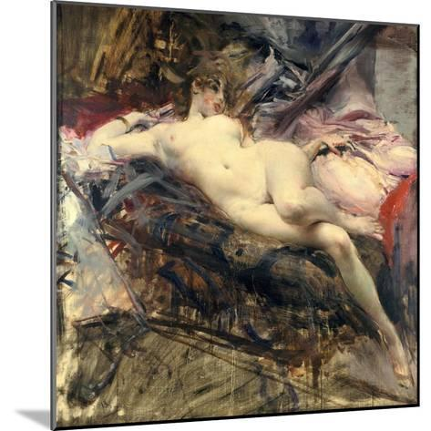Reclining Nude, Late 19Th/Early 20th Century-Giovanni Boldini-Mounted Giclee Print