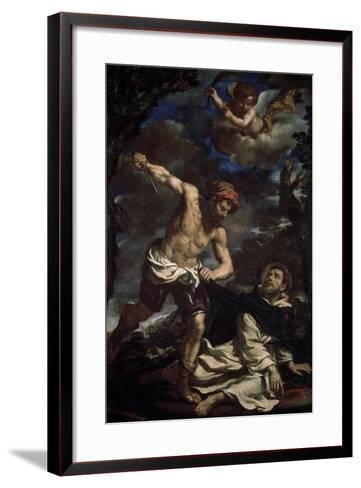 The Martyrdom of Saint Peter, End 1620S-Guercino-Framed Art Print