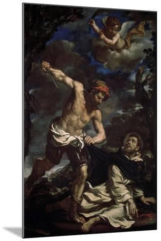 The Martyrdom of Saint Peter, End 1620S-Guercino-Mounted Giclee Print