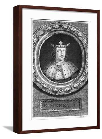 Henry I, King of England-George Vertue-Framed Art Print