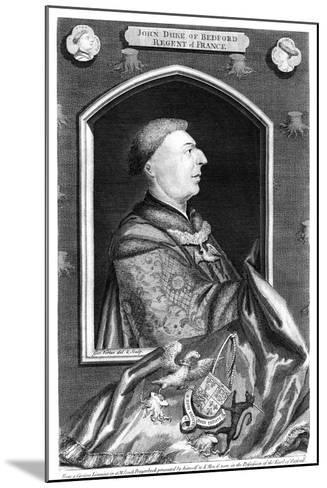 John of Lancaster, 1st Duke of Bedford-George Vertue-Mounted Giclee Print